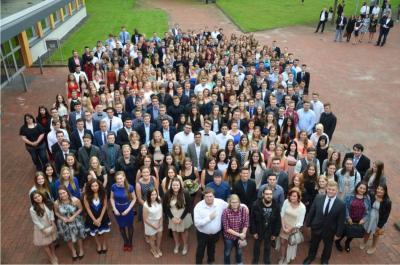 Vollzeitklassen feiern ihren Schulabschluss