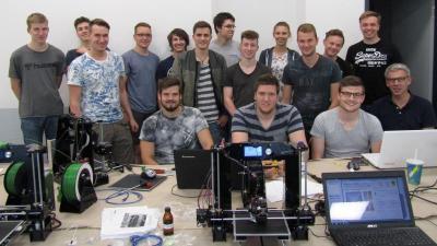 3D-Drucker Workshop am Berufskolleg Lübbecke