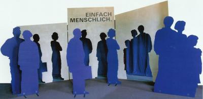 """Die Ausstellung """"Einfach menschlich"""" ist eröffnet"""