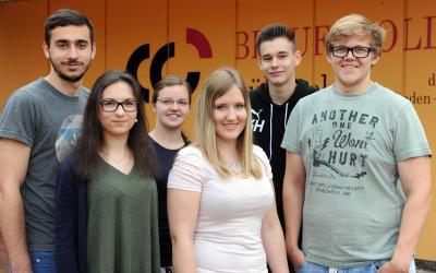 1452 neue Schülerinnen und Schüler am Berufskolleg Lübbecke