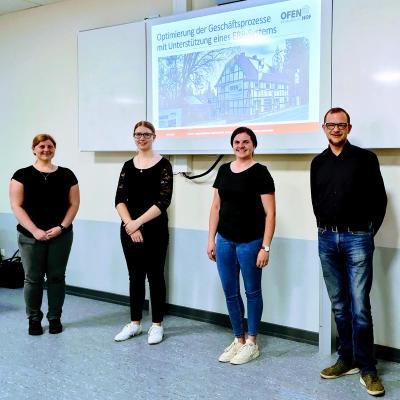 Kleine Schritte, große Wirkung -  Projekt der Fachschule für Wirtschaft am Berufskolleg Lübbecke wird umgesetzt