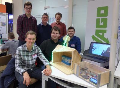 Jugend forscht - Aus einem Experiment der Arduino-AG wurde ein Erfolg!