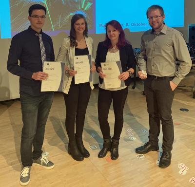 Sieben Auszubildende vom Berufskolleg Lübbecke erhalten Bestenpreis der IHK