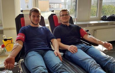 Blutspende am Berufskolleg Lübbecke