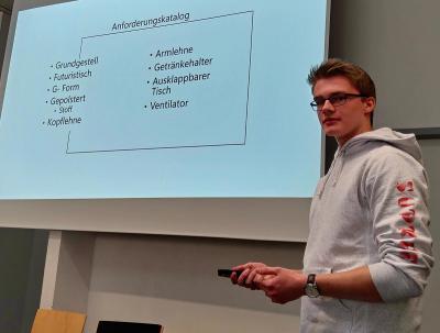Schüler der Berufskollegs Lübbecke und Senne präsentierten Innovationen