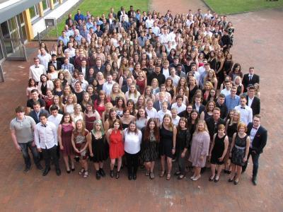 Abschlussfeier der Vollzeitklassen - 397 Absolventen verabschiedet