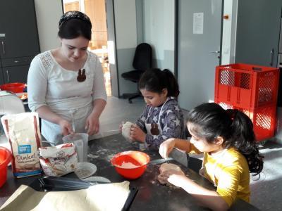 Osterfrühstück mit und für Grundschulkinder
