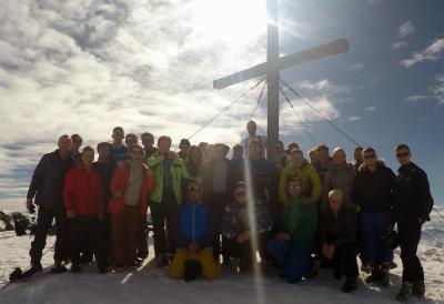 Wintersport-AG im Tiefschnee