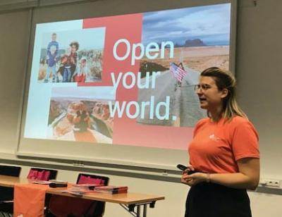 """Open your world!"" - Cultural Care Au Pair zu Gast am BKLK"